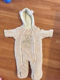 Baby Pramsuit 0-3 Months