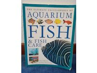 Assorted books about fish.