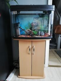 Fish tank 80L with stand