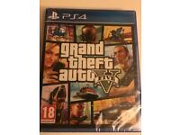 Grad theft auto 5 game for PS4