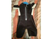 Wetsuit Aqualung - short arms and legs for warmer water/board shorts