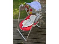 Chicco Polly Swing Up Baby swing - Red