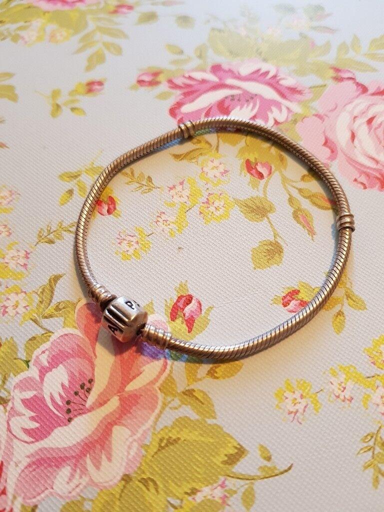 Pandora Bracelet with Charms Genuine