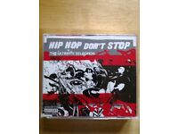 Hip hop greatest hits triple disc CD. 50p