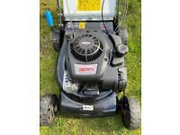 Like new macallister self propelled petrol lawnmower
