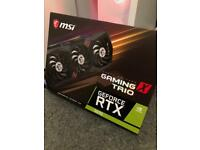 Rtx nvidia GeForce 3070 msi gaming x trio might part ex laptop or lower end card