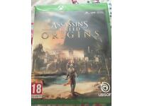 Xbox one assassins creed origins new