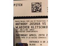 Anthony Joshua vs Klitscho