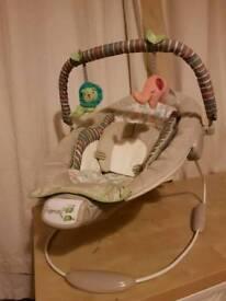 Ingenuity Cozy Kingdom Cradling Bouncer