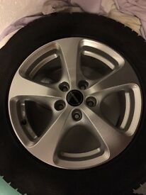 Audi Q3 (8U) Alloy Winter Wheels / Tyres x 4