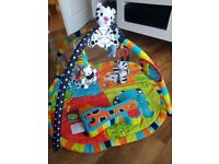 Bright Stars baby activity play mat