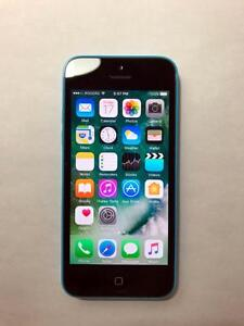 ROGERS Blue 16GB iPhone 5C (A Condition) -- BUY LOCAL!! -- [0002]