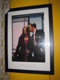 Jack Vettriano Framed Print 50 x 70cm in a Lovely Black Frame