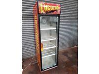 Lucozade Upright Commercial Fridge, Cans or bottles cooler, 60cm width