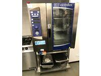 Electrolux steam o air commercial oven