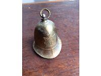 Brass Firemans/ Policemans? Hat Bell