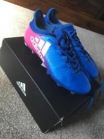 Adidas X 16.3 SG football boots size UK7 (40.7 European)