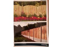 SUMMER DEALS ON WOODEN FENCING AND BRICK WALLS!!