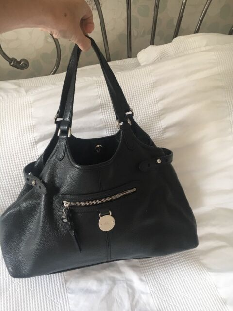 4401f6aa9f MULBERRY Somerset tote black shoulder bag - genuine - STUNNING EXAMPLE