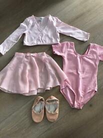 Ballet clothes age 4