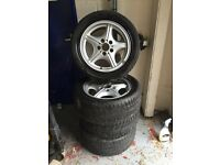 "BMW Z3 Alloy Wheels 5x120 E36 E46 16"" Deep Dish"