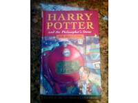 First Edition Harry Potter and the Philosophers Stone