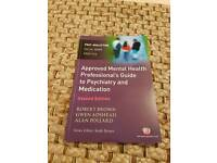 Approved mental health professionals guide to psychiatry and medication