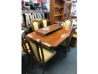 Art Deco style dining table 6 dining chairs Sue Ryder