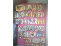 76 assorted comics
