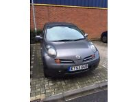 Nissan Micra (2004) 1.2 16v S 3dr, manual, petrol, for sale. (low mileage, full mot)