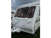 Compass omega 524 2002 4 berth caravan excellent condition and well maintained