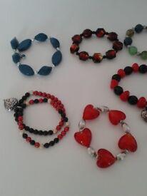 Hand made bracelets all brand new