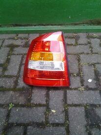 Astra rear light unit
