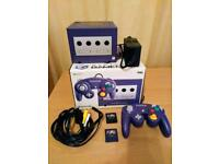 Gamecube console boxed