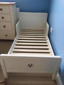 Next toddler bed in perfect condition