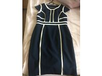 Dorothy Perkins Navy Dress - UK Size 14