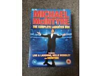 Brand new Michael McIntyre box set of DVDs