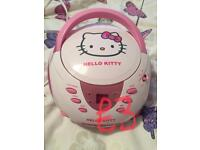 Hello kitty cd player