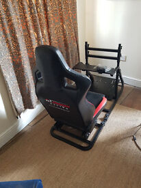 GT Omega Racing Art Simulator cockpit Racing seat