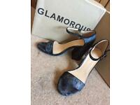 Glamorous Strappy Heels Sizes 6-8 available