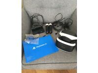 Vr headset for PS4 with 2 motion controllers