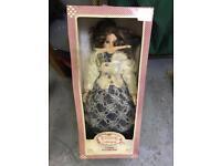 Windsor collection porcelain doll