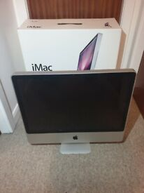 iMac 2009 early 2009, 24 inch, 8GB RAM, 640GB HDD