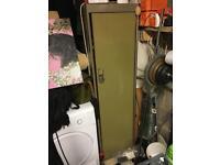 Vintage metal locker