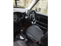 Automatic mini auto car 1.6 76000 miles mot October 18 superb little car 1/2 leather clean and tidy