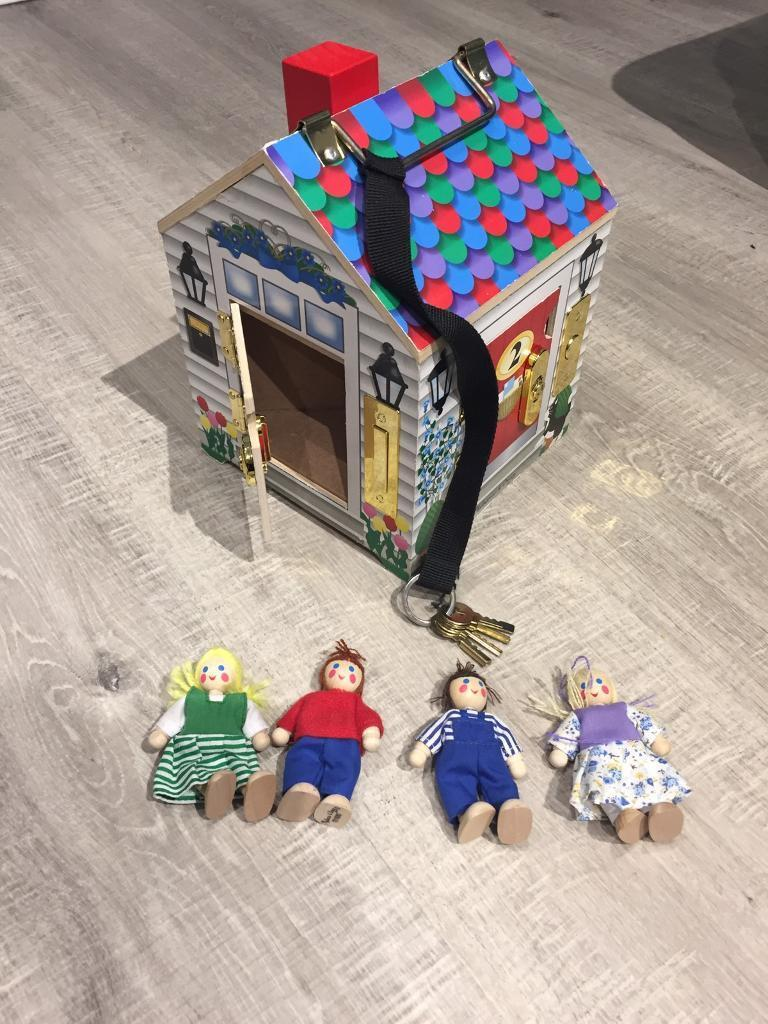 Melissa And Doug Doorbell House With Sounds And Keys In Kelty Fife Gumtree