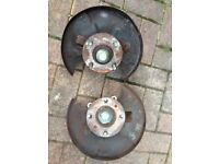 Nissan s13 200sx Silvia front hubs, knuckles, wheel bearings 4x114.3