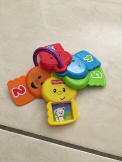 Fisher Price number keys