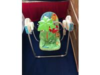 Rain Forest baby swing for sale