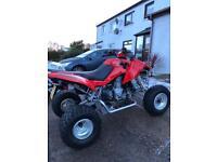 Apache rlx320 Quad Bike Road Legal